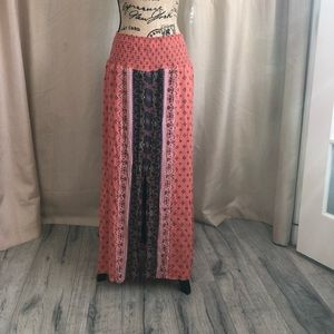 Front sit fun hobo style skirt